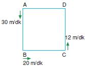 00152 Hareket Problemleri Çözümlü Soruları Test 1