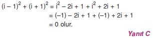 00289 Karmaşık Sayılar Çözümlü Sorular (Testi 1)