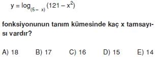 00994 Logaritma Soruları (Test 1 )