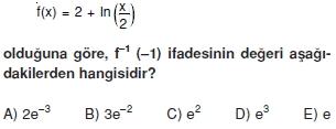 01472 Logaritma Soruları (Test 1 )