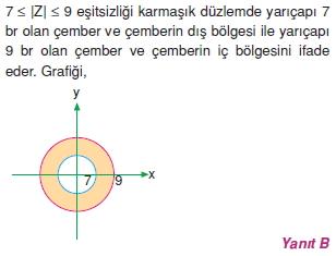 01854 Karmaşık Sayılar Çözümlü Sorular (Testi 2)