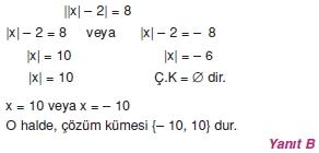 00431 Özel Tanımlı Fonksiyonlar Çözümlü Sorular (Test 1 )