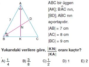 aciortay kenarortay cozumlu test II 014 Açıortay – Kenarortay Çözümlü Sorular ( Test 1)